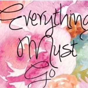 Everything Must Go! 🌸